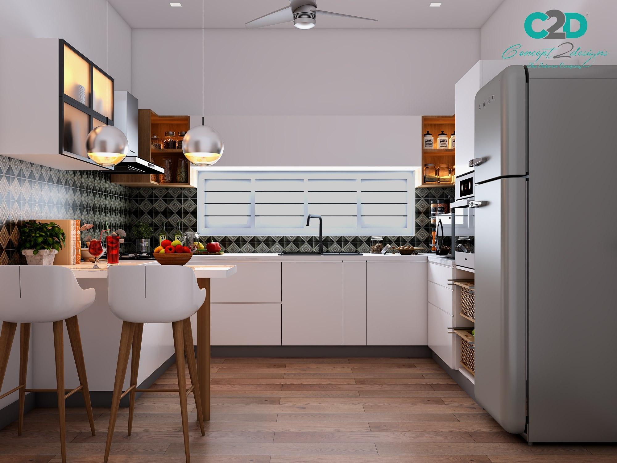 kitchen woodwork - Interior Designers in Bangalore